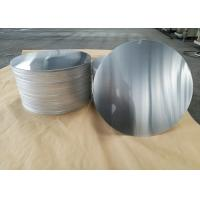 Quality Cookware Aluminum Sheet Circle Silver With Pre Painted Non - Stick Black Coating for sale
