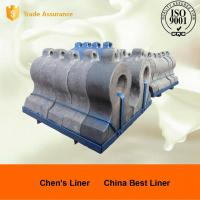 Quality High Cr Cast Iron Retention Ring Applied in Cement Mill , More than HRC48 Hardness for sale