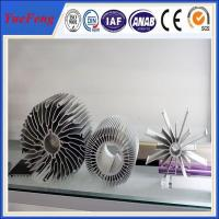 Buy industrial al6063 t5 aluminum extrusion heatsink profiles cooling fin manufactur at wholesale prices
