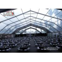 China Clear Big Event Tents Wedding Party Marquee Heavy Duty For 500 Person on sale