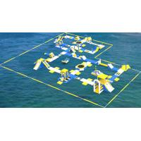 Quality TUV Certification Giant Inflatable Floating Water Park For Sea / Aqua Park Supplier for sale