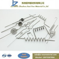 Quality Tungsten filaments used for vacuum evaporation with high quality 99.95% of purity,sell well in USA for sale