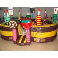 Buy cheap Birthday Cake Inflatable Playland from wholesalers