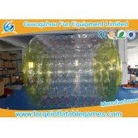 Quality 2.7*2.4*1.8M Adults Inflatable Wate Roller , Inflatable Water Games Ball Toys for sale