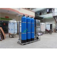 Quality Blue FRP Industrial RO System for Purification Water Treatment Equipment for sale