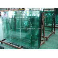 Doors Coated Tempered Safety Glass Decorative Curved Toughened Glass for sale