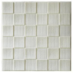 Soundproof Self Adhesive Wall Panels / Brick Wallpaper For Kindergarten