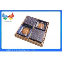 Quality Luxury Decorative Gift Boxes 156 Gram , Custom Printing Mooncake Packaging Box for sale