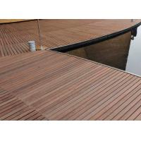 Quality Durable Hardwood Bamboo Deck Tiles Corrosion Resistance For Outdoor Gazebo for sale