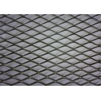 Quality PVC Coated Diamond Aluminium Expanded Mesh With Modern House Design Wallpaper for sale