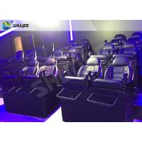 Quality Metal Flat Screen 7d Interactive Theater 7d Cinema Equipment For Children / Adults for sale