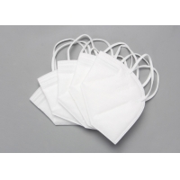 Quality Disposable Nonwoven 5 Layer KN95 Foldable Dust Mask for sale