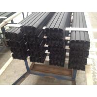 Quality Sand Blasted Black Powder Coating Aluminum Industrial Profile for Auto Aluminum Profile for sale