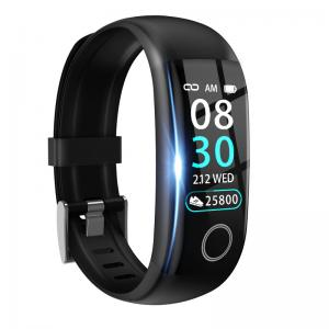 "Quality Body Temperature IP67 0.96"" Smart Heart Rate Wristband for sale"