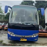 Quality Total weight 15000KG Used Yutong Dark blue 45 Seat Bus 2014 Year Diesel LHD With A/C Just ONE In Stock for sale