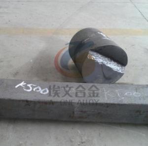 UNS N05500 Monel K500 Round Bar , Precipitation Hardenable Copper Nickel Alloy
