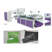 Quality Non-woven Fabric Zipper Bag Making Machine for sale