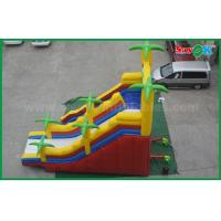 Quality 5 X 8 Giant Outdoor Commercial Inflatable Bouncer Slide Double Slide for sale