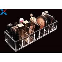 Quality Clear Acrylic Makeup Organiser Display Box For Blush / Powder Foundation for sale