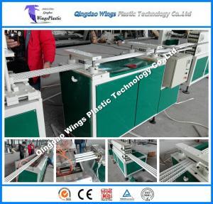 China 4 PCS PVC Corner Bead Making Machine / Wall Plastering Corner Guards PVC Elbow Corner on sale