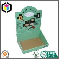 Quality Glossy Color Printing Corrugated Display Stand; Cardboard Display Box for sale