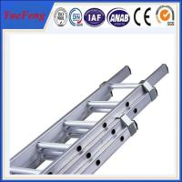 Quality 6063 t5 OEM aluminum fabrication,ladder aluminium,aluminium extension ladder for sale