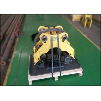 Quality Durable Hydraulic Plate Compactor , Slope Plate Compactor For Excavator for sale