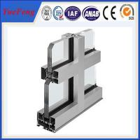 Quality Hot! high quality aluminum curtain wall systems, aluminum extrusions for curtain wall for sale
