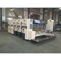 Quality High Speed Corrugated Cardboard Production Line Printing Slotting And Die Cutter for sale