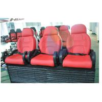 Quality 5D movie theater chair supplier with red, yellow, blue, black color Motion Theater Chair for sale