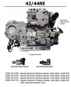 Quality Auto Transmission 42RE 44RE sdenoid valve body good quality used original parts for sale