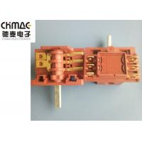 Quality Brass Terminals Oven Rotary Switch Red PA66 Metal Pins AC2 AC3 Color Optional for sale