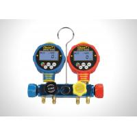China Air Conditioning Refrigerant Gauge Set Gas PSI  R410a R22 Gauges Φ68mm on sale