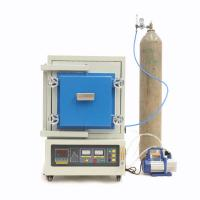 Quality Electric Vacuum Atmosphere Furnace MoSi2 Heating 1700C Temp Multi Function for sale