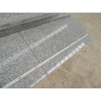 China Silver Grey G603 Granite Polished Small Slabs Popular Grey Granite G603 Tile for building for sale