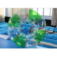 Buy cheap Colorful stripe  Inflatable Bumper Ball Football Sports , Bubble Soccer Ball With  CE from wholesalers