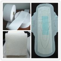 Fluff pulp absorbent paper for sanitary pad raw materials