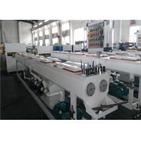 Buy 150KG/H Capacity PVC Pipe Extrusion Line Dust / Chip Free Cutting System at wholesale prices