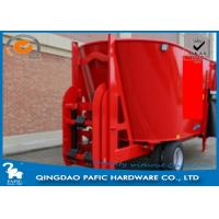 Buy Vertical Auger with Serrated Knives of Livestock Farm Used Feed Processing Wagon at wholesale prices