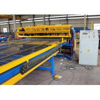 Buy 2.5m width full automatic Concrete Reinforcing Welded Wire Mesh Panel Machine at wholesale prices