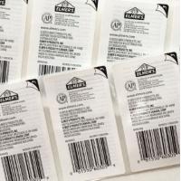 Quality Plastic Peel Off Sticker Labels , Various Self Adhesive Removable Labels for sale