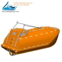 Buy 6.7 Meters Free Fall Lifeboats 33 Persons and Rescue Boat 6 Persons For Sale CCS at wholesale prices