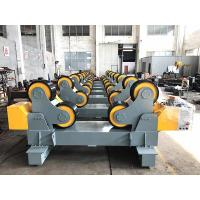 Quality Pipe Welding Rollers With Moving Wheels , 60T Self Aligning Tanks Turning Rolls for sale