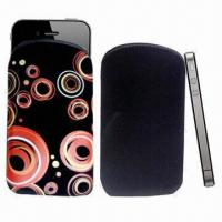 Quality Nami PU Leather Mobile Phone Pouches with Customer Logo for sale