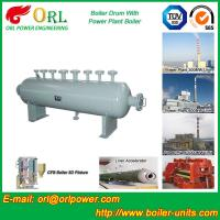 Quality High Pressure Vacuum Boiler Mud Drum For Heating Industry SGS Standard for sale