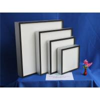 China Fiberglass Paper Mini Pleat HEPA Air Filter For Hospital ISO9001 TS16949 on sale