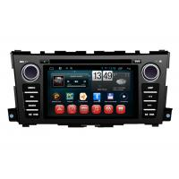 Quality Nissan Teana 2014 Car GPS Navigation System Capacitive Touch Panel Android 4.1 for sale