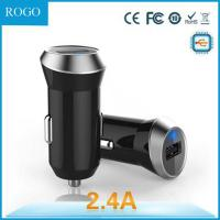 Quality wholesale output 2.4 A mIcro usb car charger with dual USB for sale
