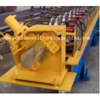 Quality Half-round Seamless Gutter Roll Forming Machine High Speed Chain Transmission 16 Stations for sale