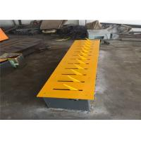 Buy Roadway Safety Speed Hump Traffic Spike Barrier Iron Flush Mounting at wholesale prices